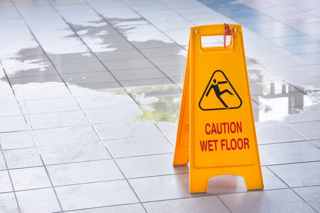 Slip and fall accidents in Washington DC